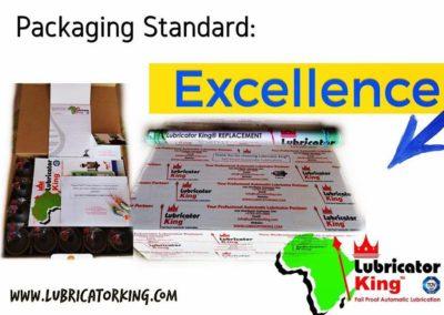 Packaging Standard of Lubricator King